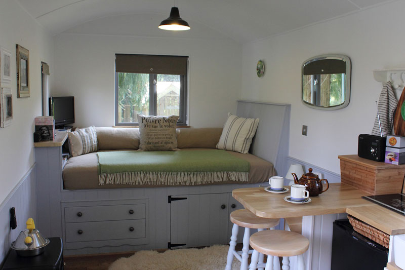 The Huts Shepherds Hut Retreat