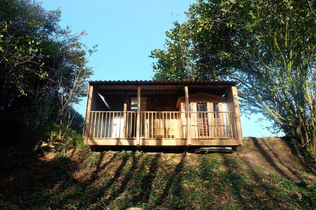 Woodland Sauna exterior