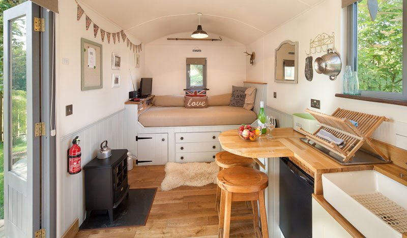 Shepherds Delight The Shepherds Hut Retreat