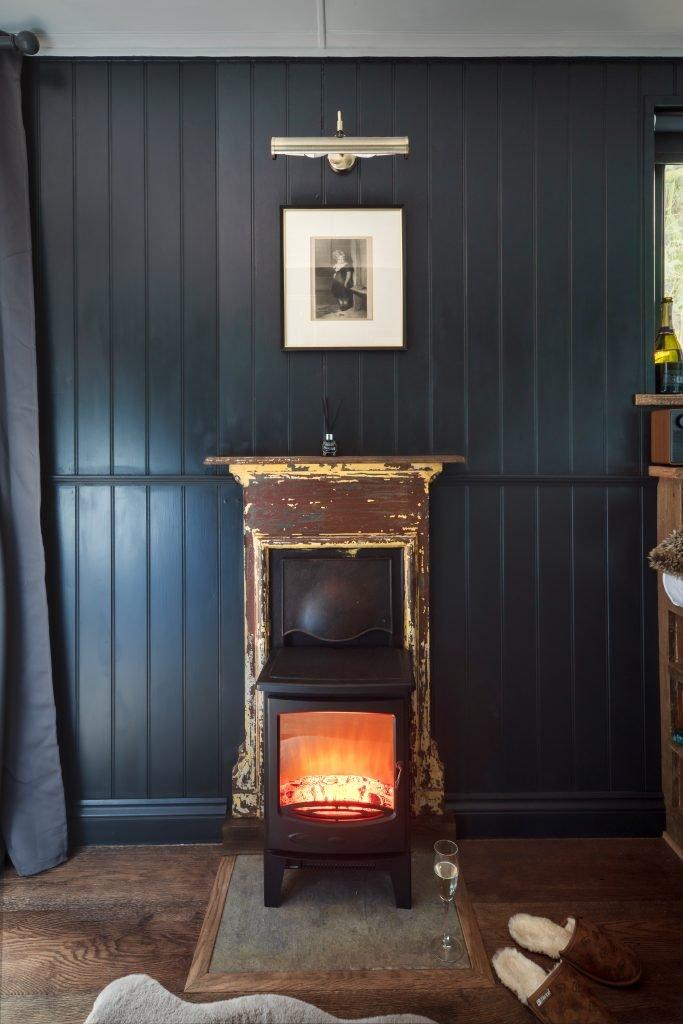 Shepherds Parlour fireplace